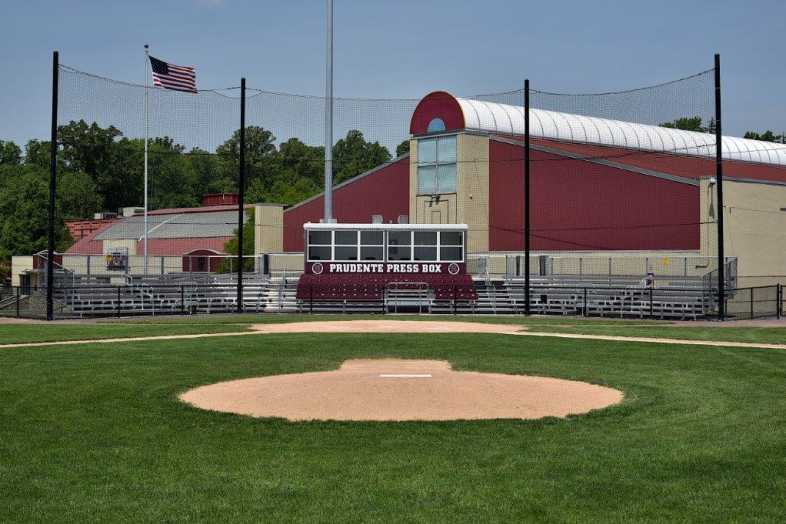 SWARTHMORE COLLEGE - BASEBALL BLEACHERS - 1