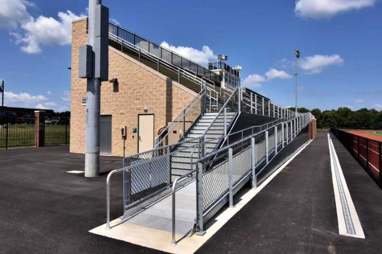 Donegal School District - Football Bleachers - Built by Southern Bleacher - 6