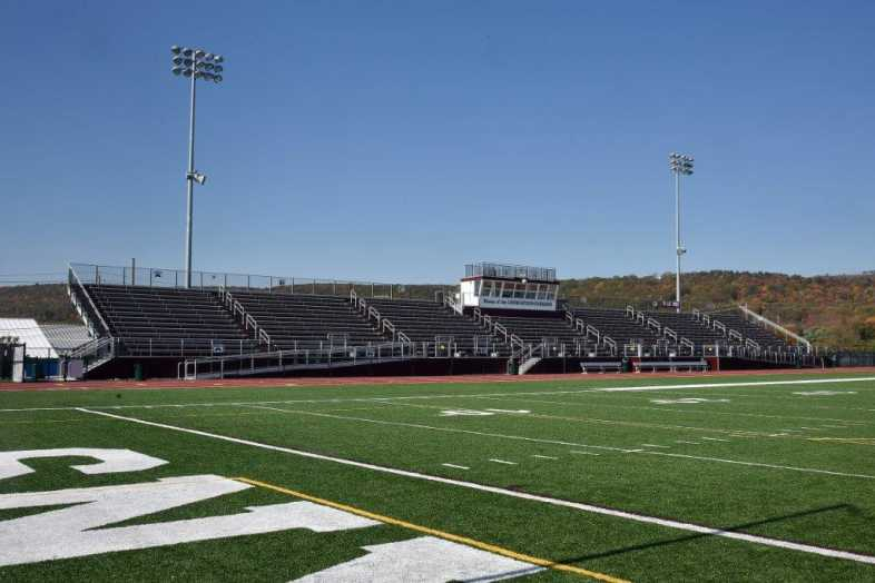 Lehighton Area School District - Football Field - Built by Southern Bleacher - 3