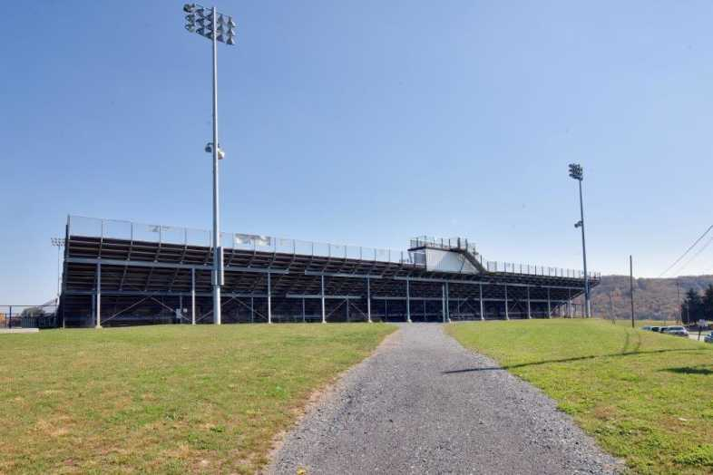Lehighton Area School District - Football Field - Built by Southern Bleacher - 9