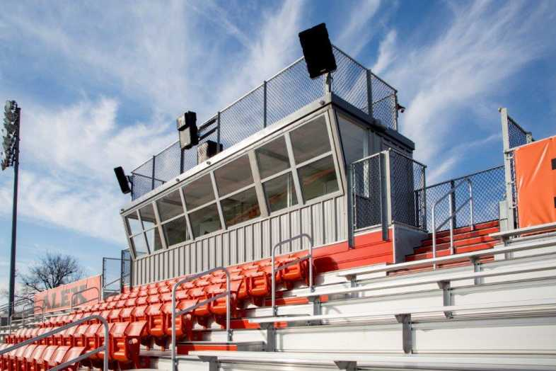 ALEX PUBLIC SCHOOLS - FOOTBALL FIELD - SOUTHERN BLEACHER - 7