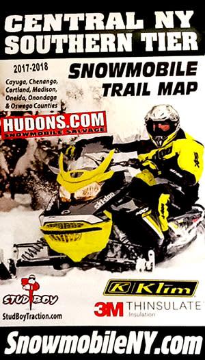 2018 Snowmobile Trail Map