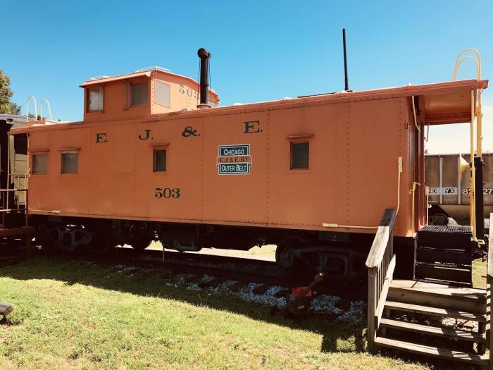 Griffith Historical Park train car