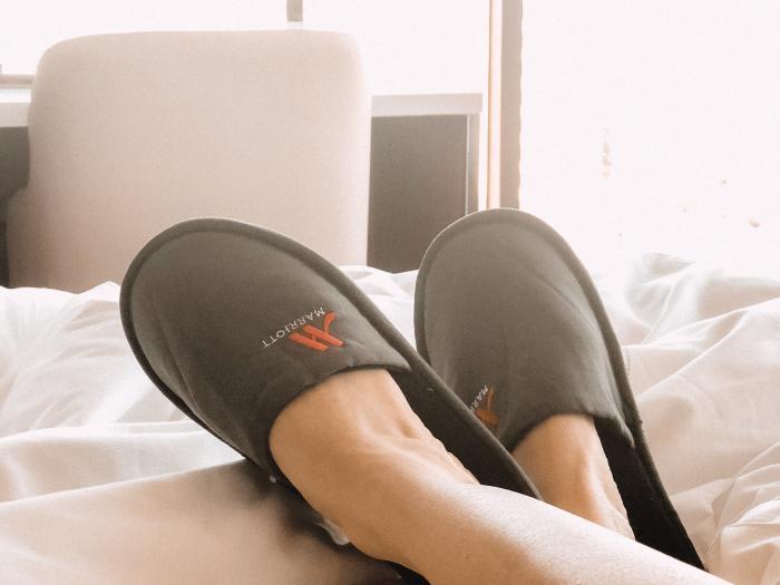 Marriott Irvine Spectrum Slippers