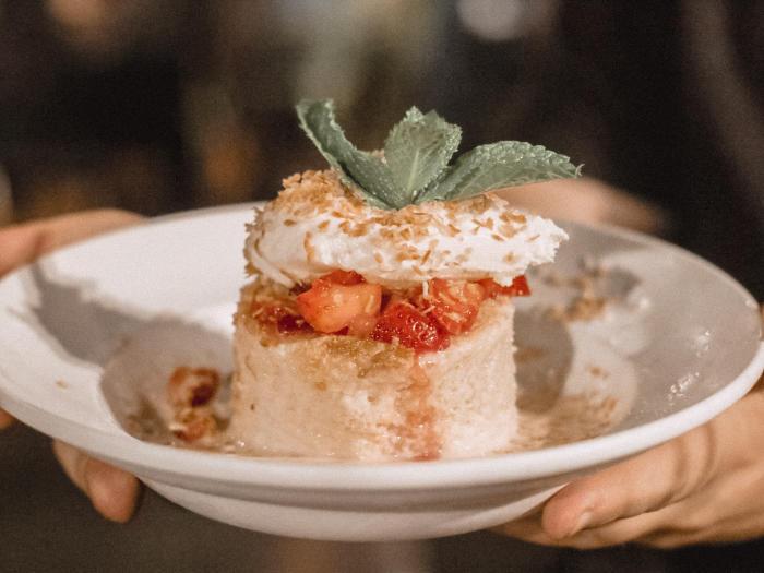 Cha Cha's Latin Kitchen Irvine Tres Leches Cake