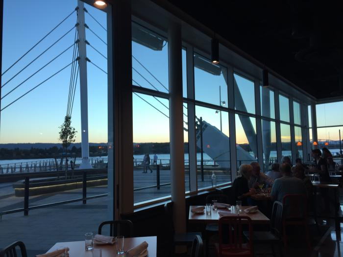 Sunset at Wildfin American Grill