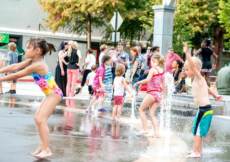 Downtown Splash Pads