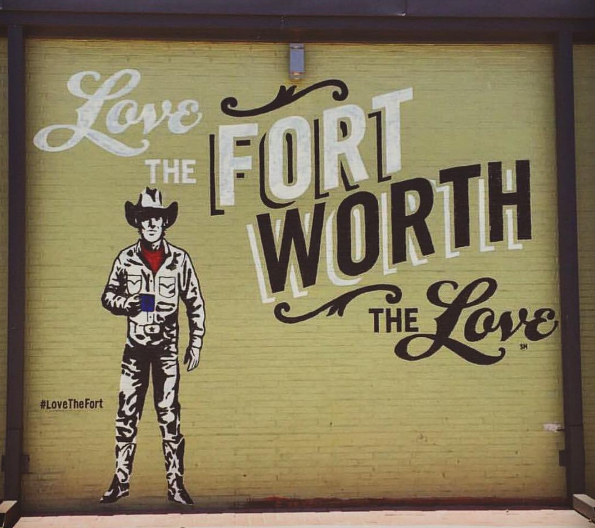 Brewed Worth the Love Mural
