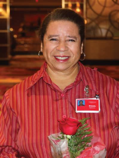 ROSE Winner Brenda Manns