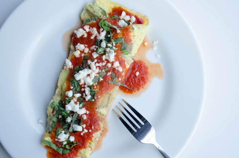 Le Jardin omelet