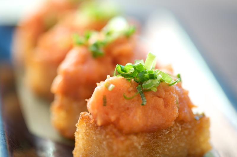 sushi roku hanabi spicy tuna