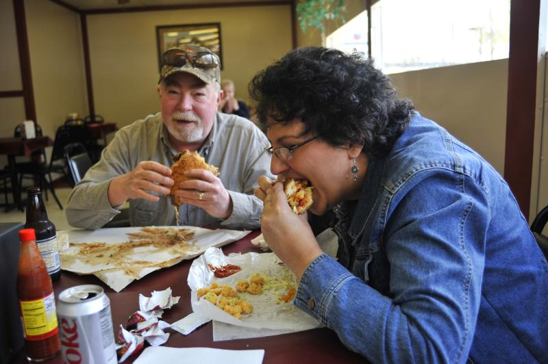 Eat Local - Bear's Poboys, Covington.