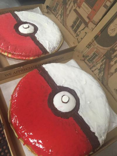 Sugar Shack Poké Ball Donuts