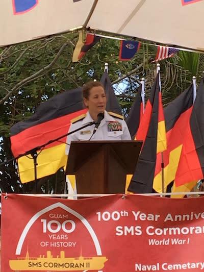 SMS Cormoran Event speaker