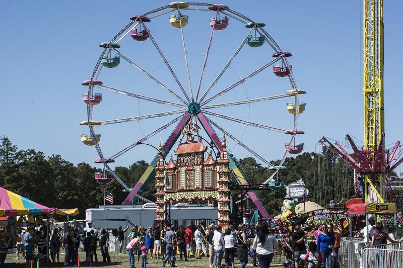 St. Tammany Parish Fair Midway - Ferris Wheel