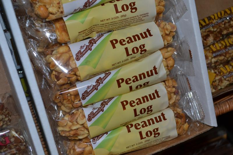 Peanut Log from Crown Candy