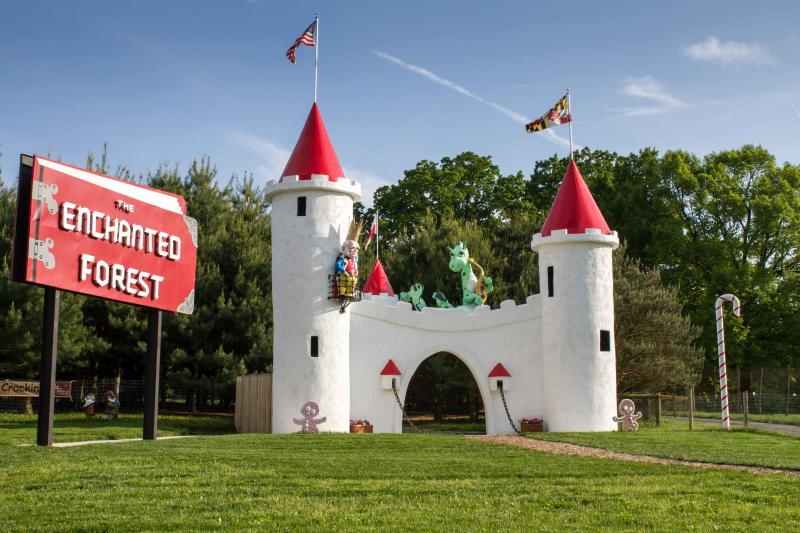 Enchanted Forest Castle at Clark's Elioak Farm