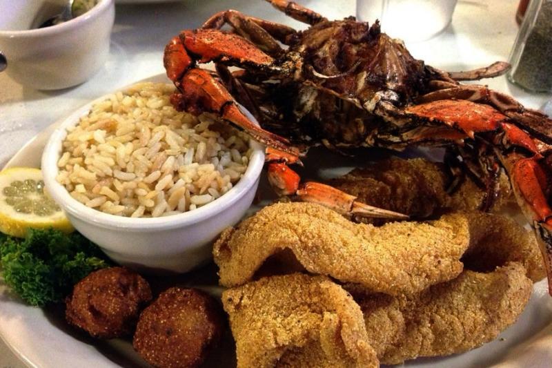 Sartin's BBQ Crab