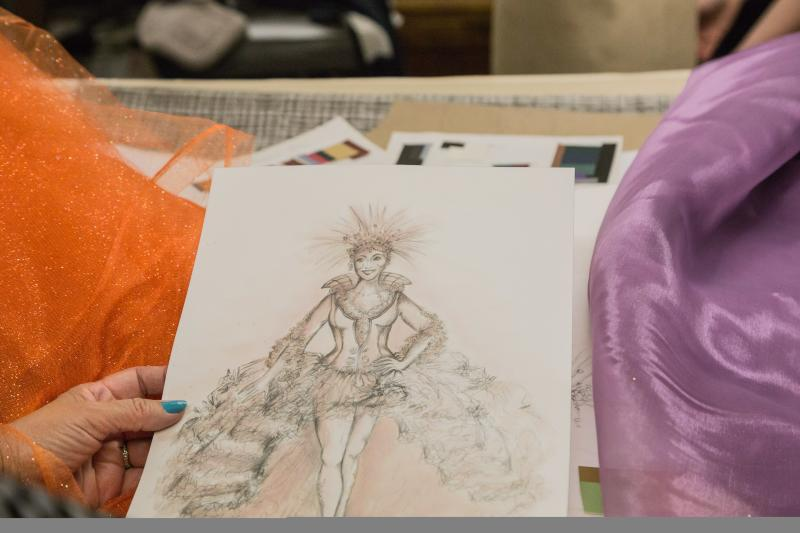 Costume designer Helene Siebrits shares her vision for the fairy queen Titania in Tantrum Theater's production of A Midsummer Night's Dream