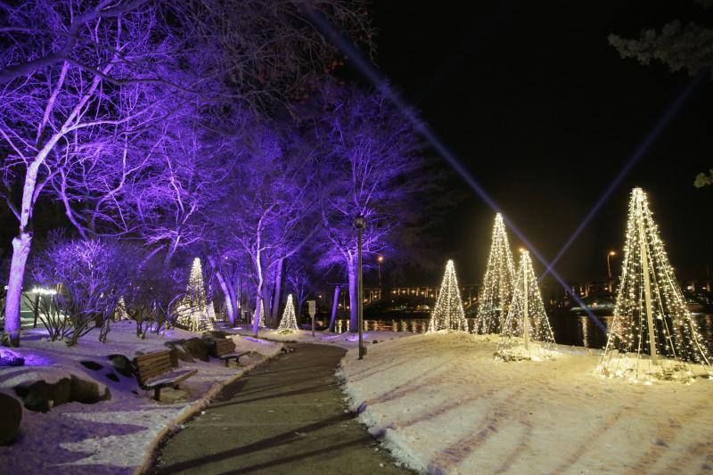 Rockford's River Lights