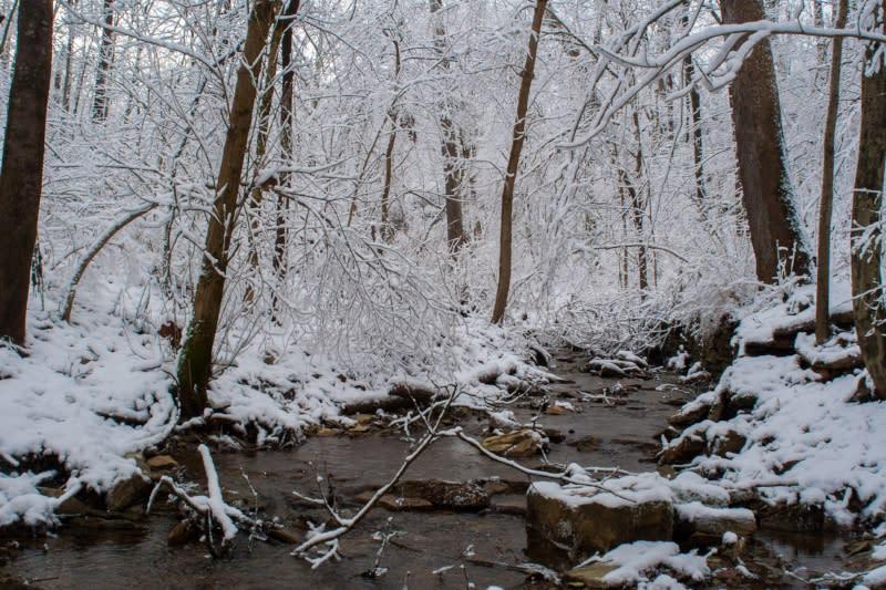 winter hiking bloomington indiana