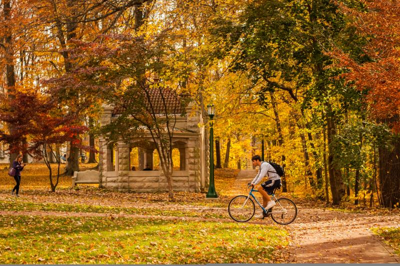 cycling at iu