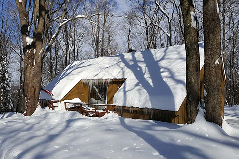 Claycomb Chalet Winter