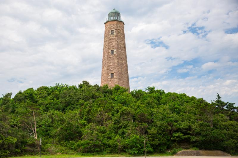 Cape Henry Lighthouse on Fort Story Military Base