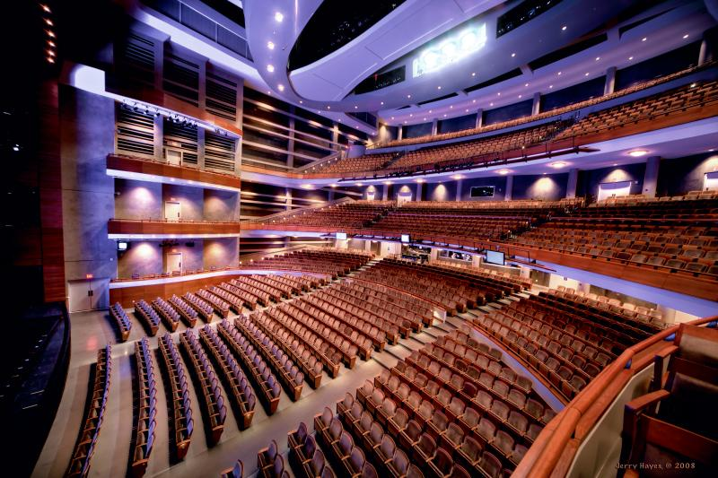 Dell Hall at the Long Center for the Performing Arts