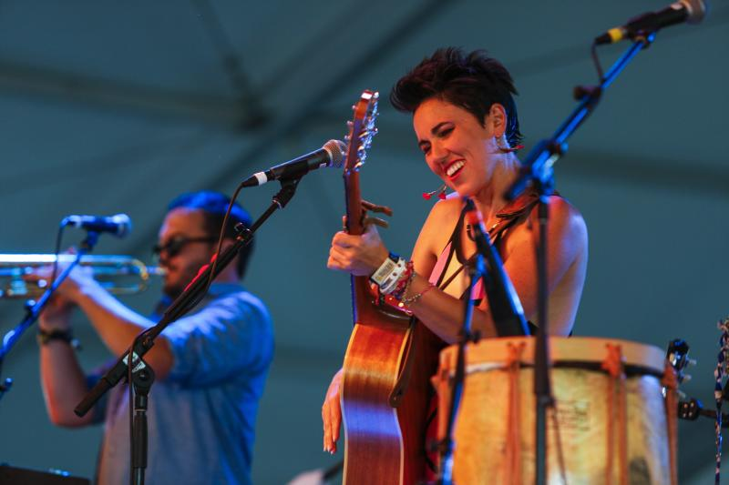 Gina Chavez at Austin City Limits ACL Music Festival