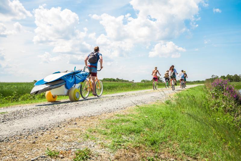 Sandbridge Virginia Beach Biking