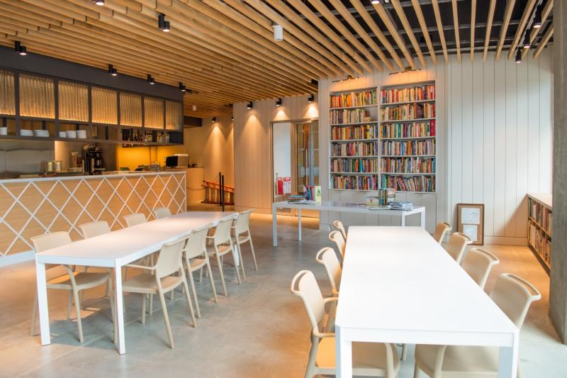 Cookbook Bar and Cafe at the Central Library