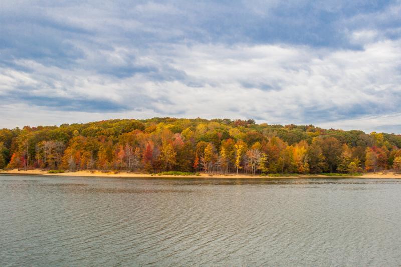 Fall at Lake Monroe