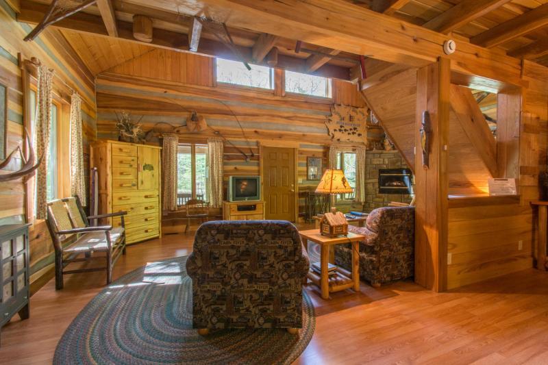 anglers log cabin