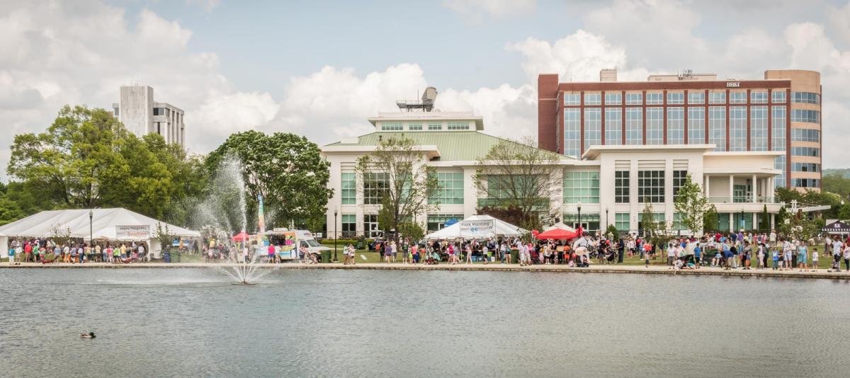 Panoply Arts Festivalin downtown Huntsville