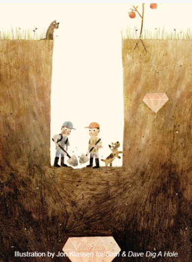 Illustration for Sam & Dave Dig a Hole