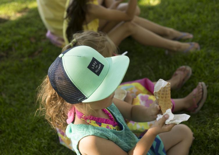 Ice Cream at the Park
