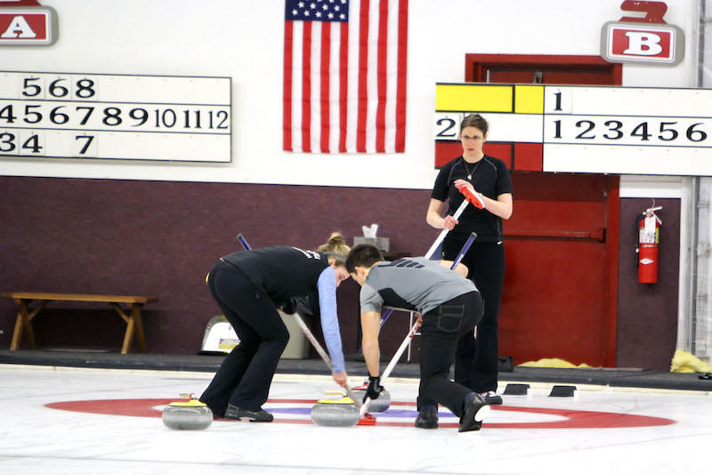 Curling U.S. Mixed Doubles National Championship - Photo by: Andrea Paulseth, Volume One