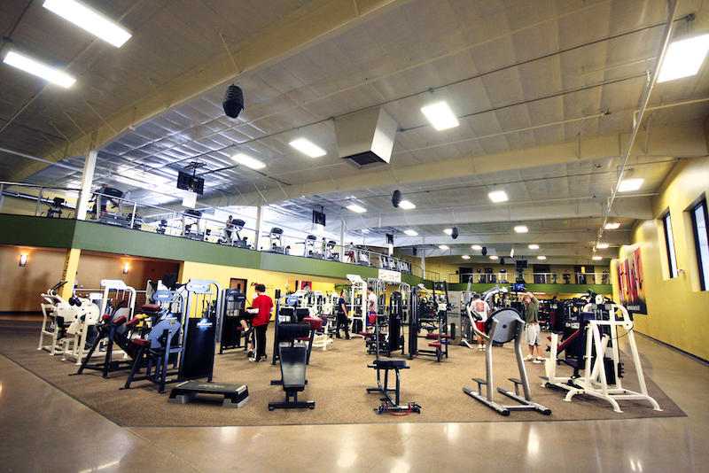 Gold's Gym - Photo by: Andrea Paulseth, Volume One