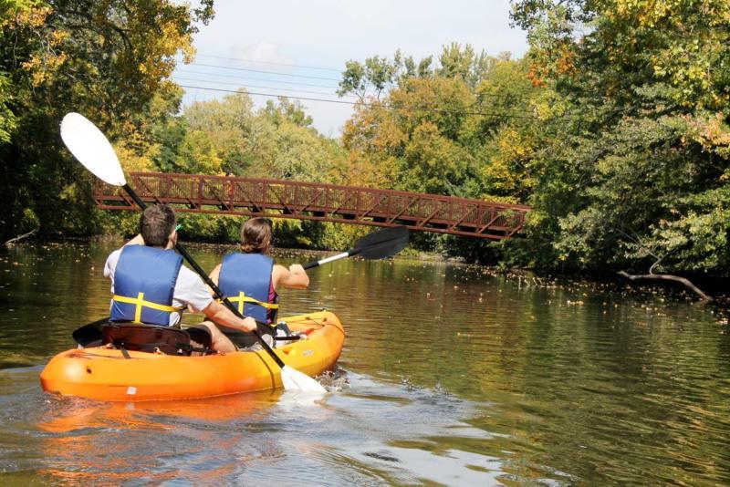 Kayaking the Red Cedar River