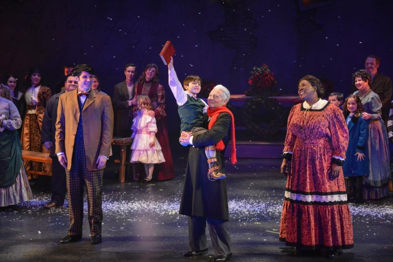 Production photo for A Christmas Carol at ZACH Theatre