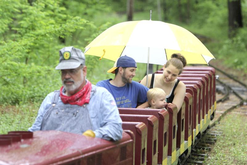 Carson Park Train - Photo by: Andrea Paulseth/Volume One