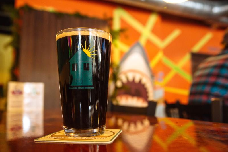 Pleasure House Brewing Lynnhaven Coffee and Cream Stout