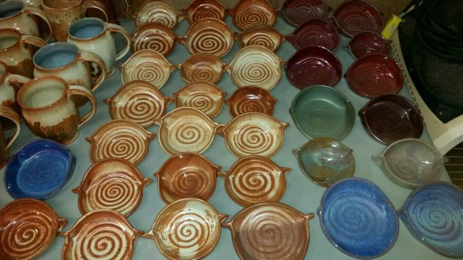 RVA Clay pottery