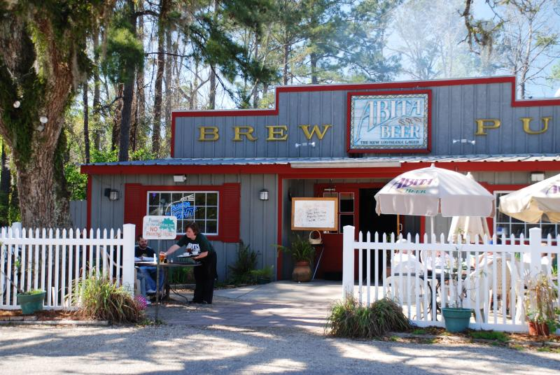 Abita Brew Pub in Abita Springs