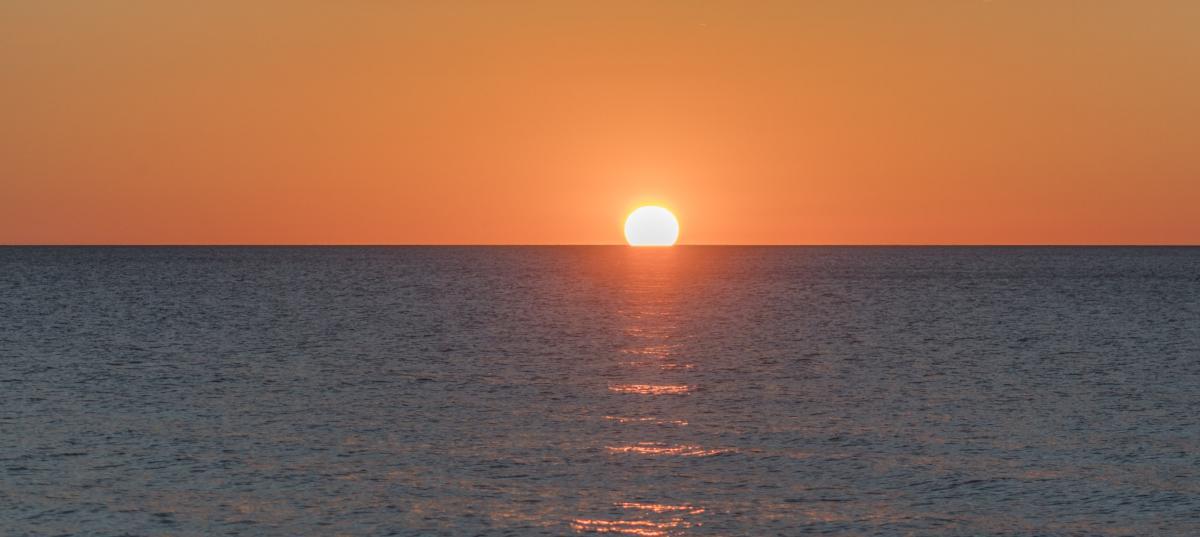 Sunset at Sleeping Bear Dunes