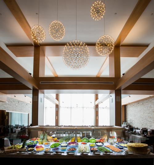 Fogo Buffet Table
