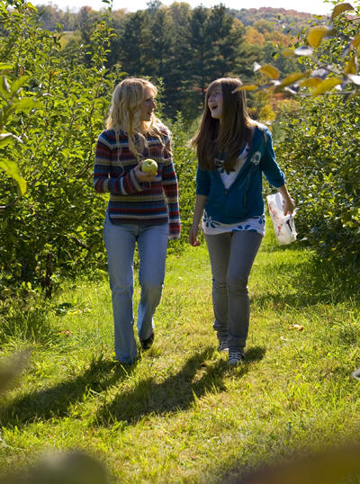 Apple Picking in the Finger Lakes at Owens Orchards