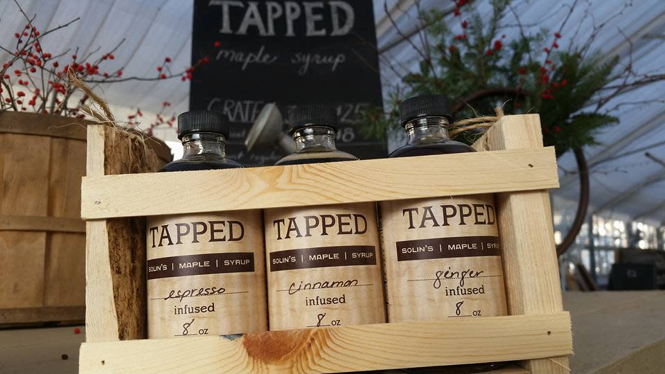 Enjoy the taste of spring with the Stevens Point Area's own Tapped Maple Syrup