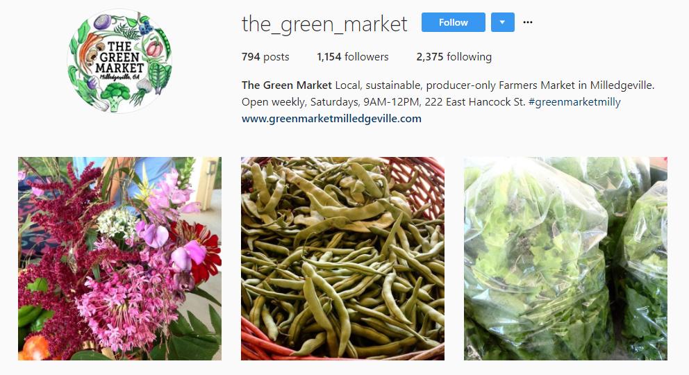 The Green Market Insta